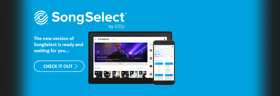 Check out the SongSelect Beta